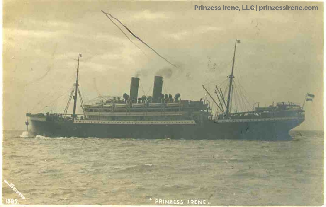 Prinzess Irene. Real photo postcard, postmarked 1911.