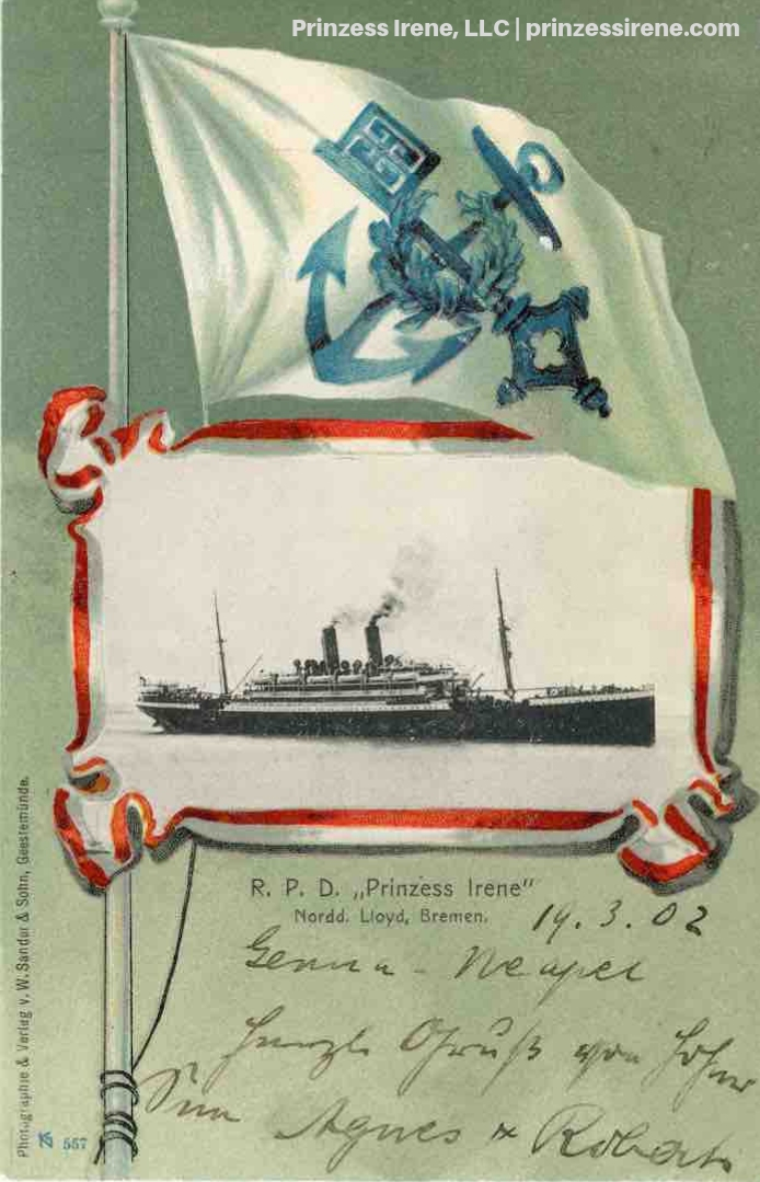 Postcard, dated March 19, 1902