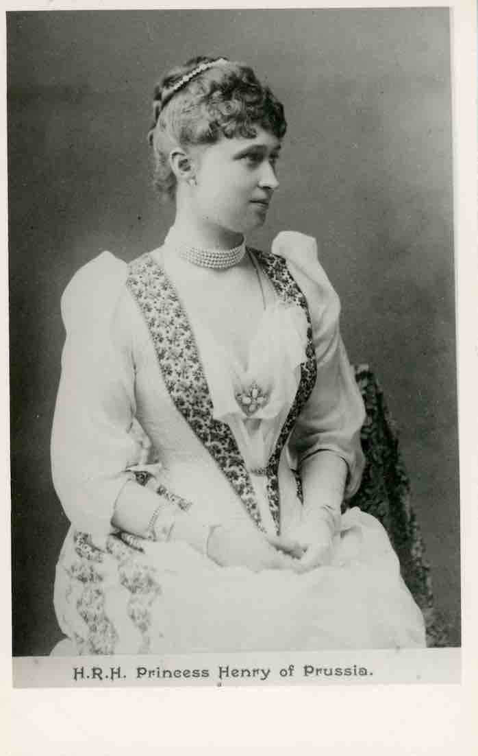 HRH Princess Irene as a young woman. Undated photograph.