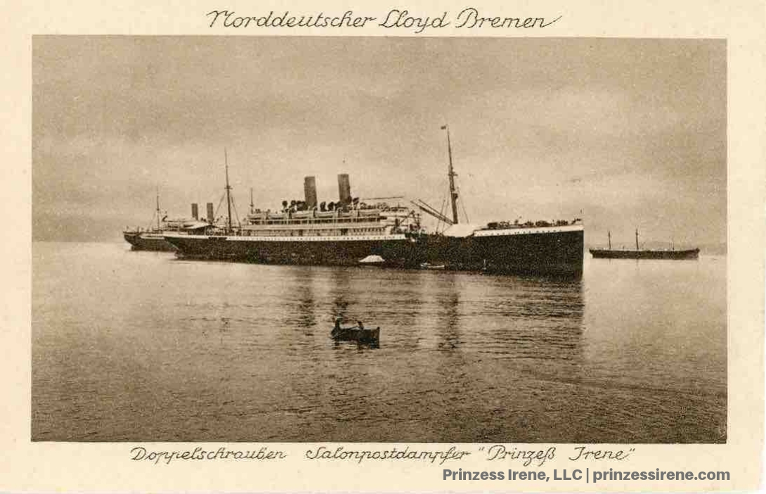 Prinzess Irene. Postcard, about 1910.