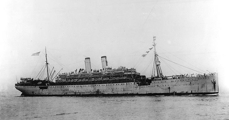 USS Pocahontas. Courtesy US Naval Historical Center.