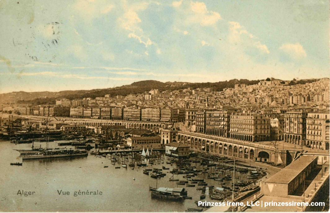 Algiers. Postcard, dated February 25, 1914.